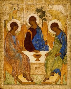 Andrei Rublev icon of the Holy Trinity