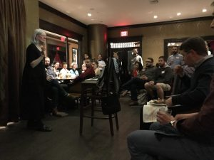 The Rev. Fleming Rutledge at Theology on Tap on October 3 2017